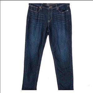 Old navy the boyfriend jeans darkwash sz.10 tall